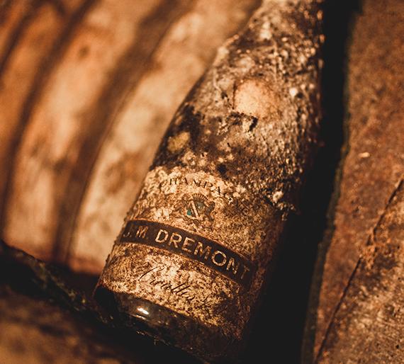 Première bouteille Champagne Drémont Marroy